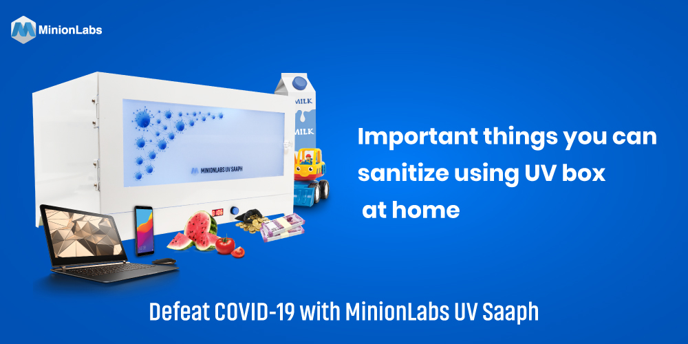 Important things you can sanitize using UV box at home